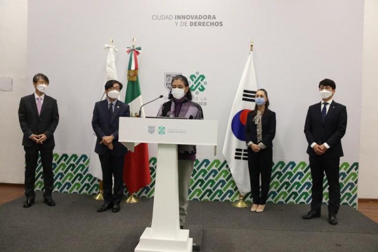Recibe Gobierno capitalino donativo de insumos médicos por parte de República de Corea 1