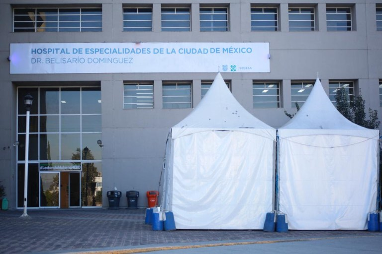 Incrementa Gobierno capitalino 41 por ciento capacidad hospitalaria en Ciudad de México 1