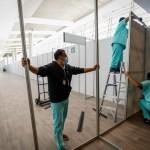 Amplían Gobierno capitalino y 'Sumamos por México' capacidad hospitalaria en la Unidad Temporal... 5