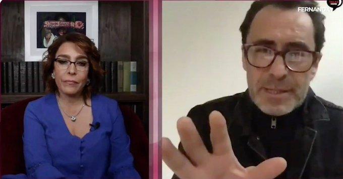 """Yo sí creo en AMLO"", Demián Bichir a Fernanda Familar (vídeo) 1"