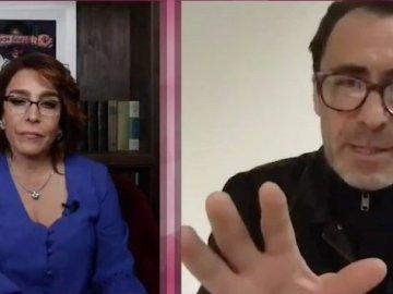 """Yo sí creo en AMLO"", Demián Bichir a Fernanda Familar (vídeo) 6"