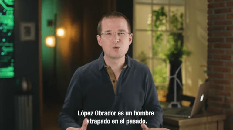 """""""López Obrador es un hombre atrapado en el pasado"""": Ricardo Anaya 1"""