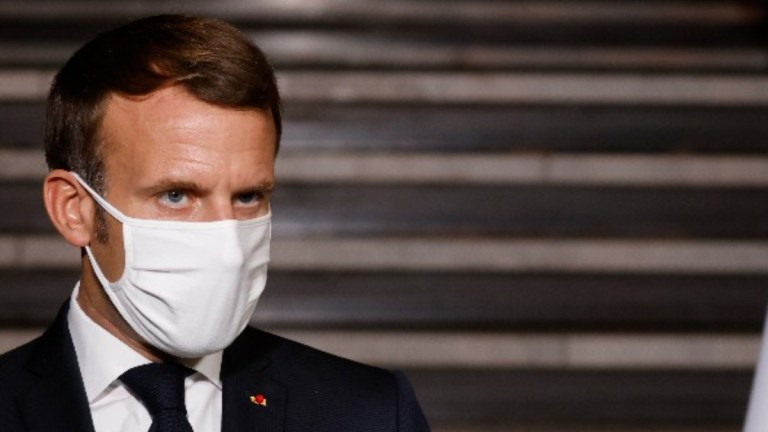 Emmanuel Macron, presidente de Francia da positivo a Covid-19 1