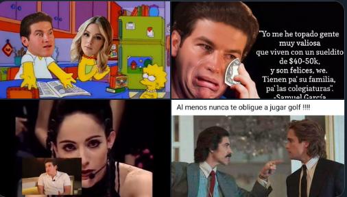 """""""Me he topado gente que vive con un sueldito de 40 o 50 mil y son felices"""",  reviven entrevista de Samuel García y las redes explotan (mejores memes)"""