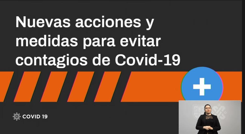 CDMX continua en semáforo naranja al límite; anuncian nuevas medidas para evitar contagios de Covid-19 8