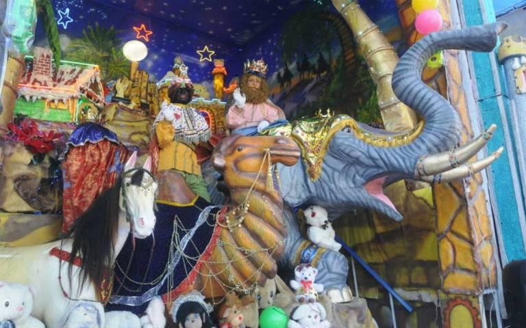 Por COVID-19 se suspenden las tradicionales fotos con los Reyes Magos y Santa Claus en CDMX 1