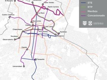 Autobuses RTP apoyarán en el traslado de usuarios del metro 9