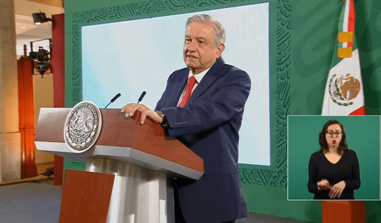 Anuncia AMLO adelanto de pago de becas y pensiones de adultos mayores por periodo electoral