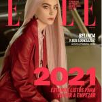 Belinda inicia el año como imagen de la portada de Elle México 5