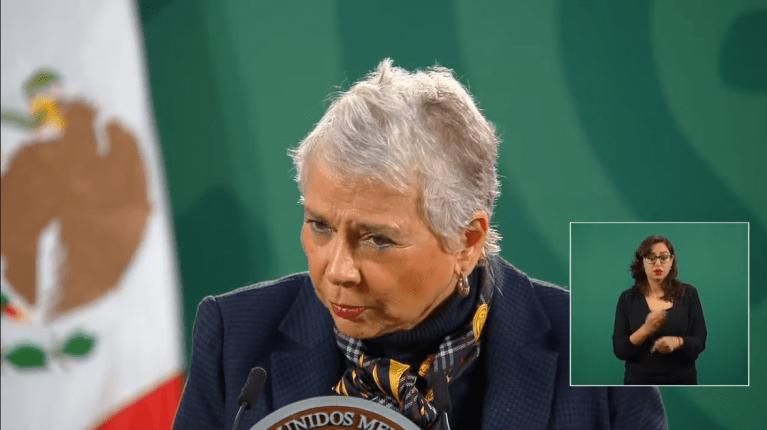 """""""Si hay grupos criminales en la CDMX"""": Olga Sánchez Cordero 1"""