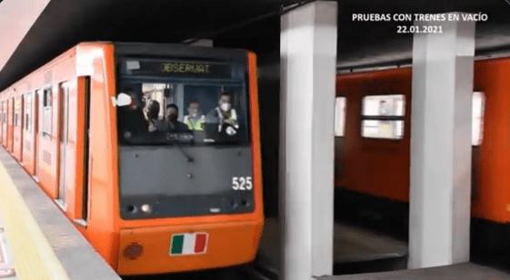 Línea 1 del metro reanuda servicio el lunes 25 de enero