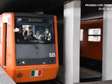 Línea 1 del metro reanuda servicio el lunes 25 de enero 8