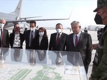 Inaugura AMLO pistas aéreas en Base Militar Número 1 de Santa Lucía 3