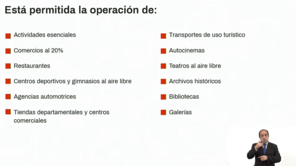 """Estas son las nuevas medidas para """"Reactivar sin arriesgar"""" en CDMX 6"""