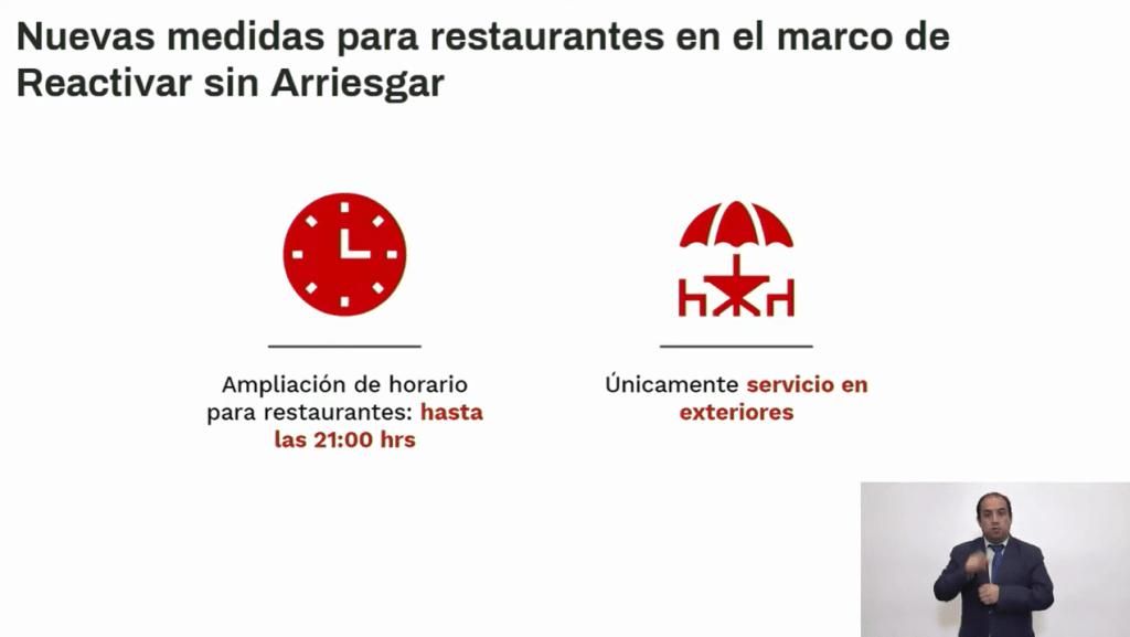 CDMX continúa en semáforo rojo la próxima semana. Anuncian nuevas medidas para restaurantes y centros comerciales 5