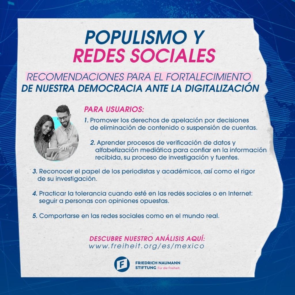 Cinco puntos para ejercer tu poder ciudadano en el mundo digital. 5