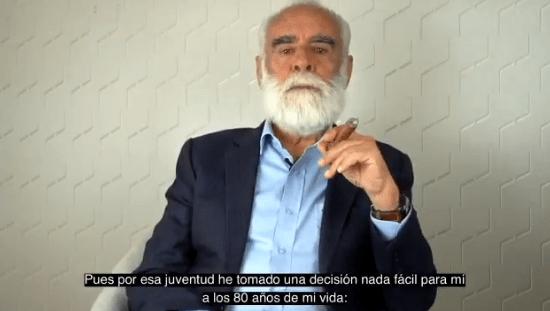 """A sus 80 años, el """"Jefe"""" Diego se une a las redes sociales"""