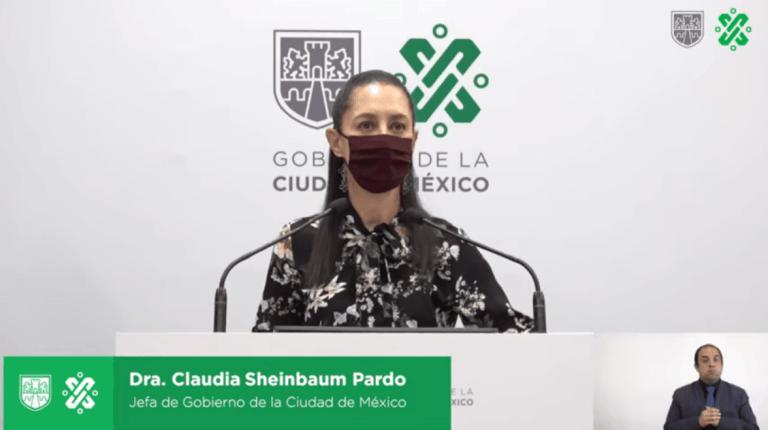 """""""Yo no estoy de acuerdo"""", Sheinbaum acerca del uso obligatorio de cubrebocas en Xochimilco 1"""