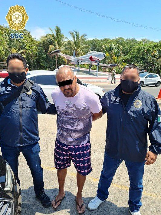 """Fue detenido en Acapulco """"El Fabián de la Peralvillo"""", uno de los 10 delincuentes más buscados en la CDMX 1"""