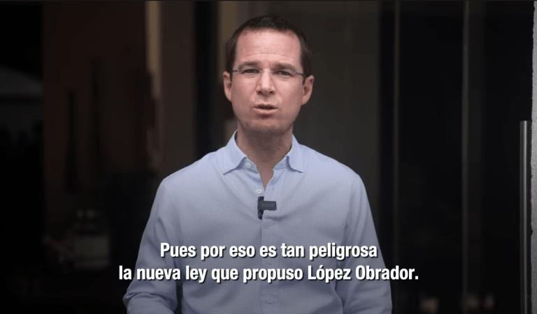 """""""López Obrador parece estar enfermo de poder, quiere todo el control"""", Anaya alerta sobre el padrón de telefonía móvil"""