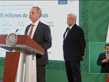 Personal educativo de Chiapas, Coahuila, Nayarit, Veracruz y Tamaulipas, serán los primeros en recibir vacunación contra Covid-19 12