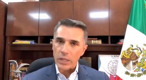 """""""La ley es la ley"""", Sergio Mayer sobre decisión del INE en el caso de Salgado Macedonio 1"""