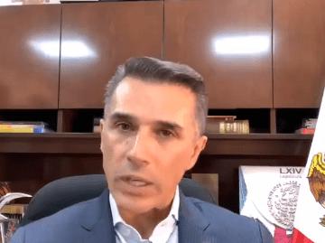 """""""La ley es la ley"""", Sergio Mayer sobre decisión del INE en el caso de Salgado Macedonio 9"""