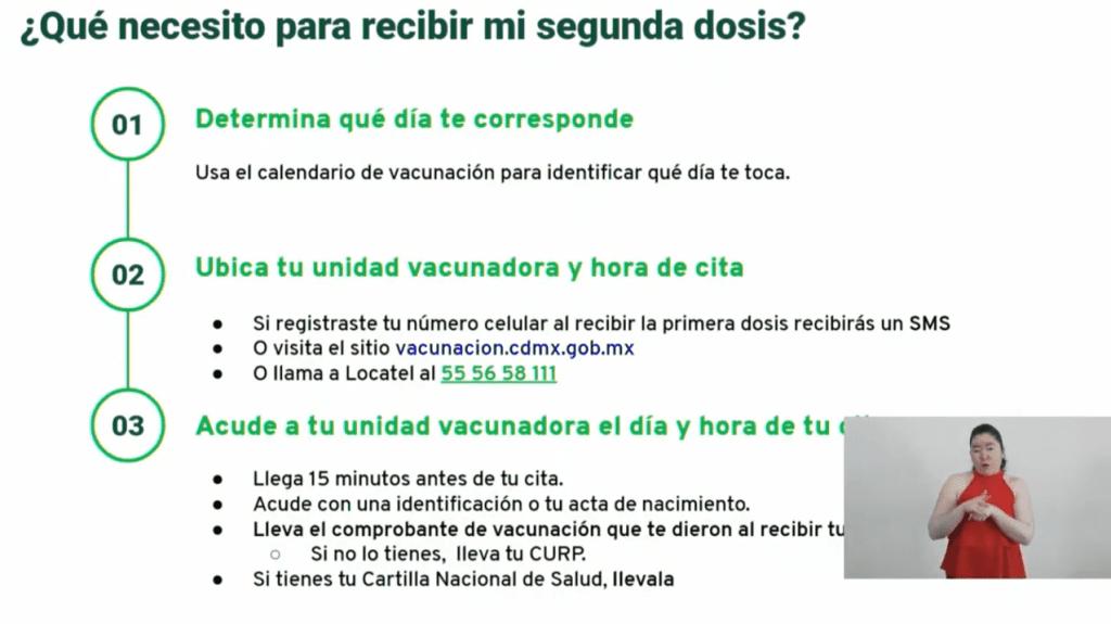 Fechas y sedes para aplicación de segundas dosis de vacuna contra Covid-19 a adultos mayores en 5 alcaldías de la CDMX 10