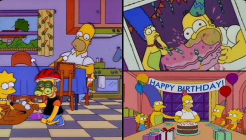 ¡Feliz cumpleaños Huesos! Ahhh… y también a Homero