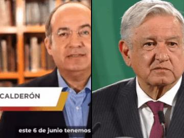 AMLO desea pronta recuperación a Felipe Calderón, quien dio positivo a Covid-19 7