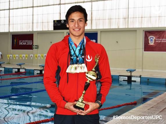mejor nadador del campeonato