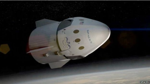 Nave Dragon de SpaceX