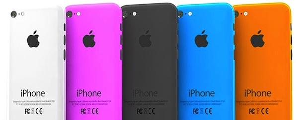 iPhone low cost, los supuestos colores del próximo smartphone de Apple