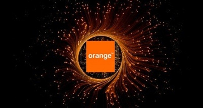 red de fibra optica orange