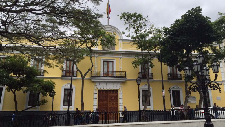 cancilleria venezolana