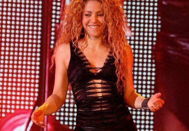 Shakira en su concierto de retorno