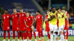 Inglaterra-Colombia