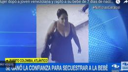 Venezolana Colombia rapto