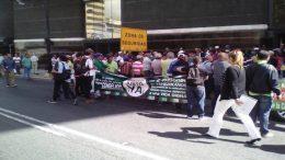 cañicultores protestando