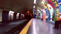 estacion de metro madrid