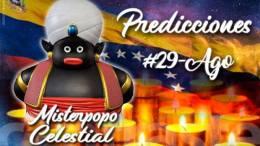 Misterpopo Celestial 29 de agosto 2018