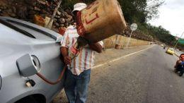 Contrabando de gasolina en Venezuela