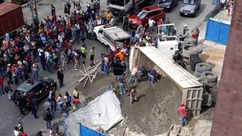 camión-arena-El-Rosal