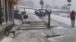 nieve-España