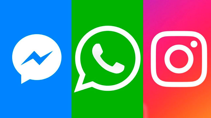 facebook twitter e instagram