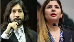 Nora Bracho y Renzo Prieto