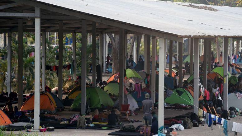 Migracion centroafricana en américa