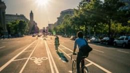 ciclistas en nueva york