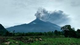 explosion volcan de guatemala