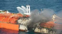 barco petrolero corea del sur